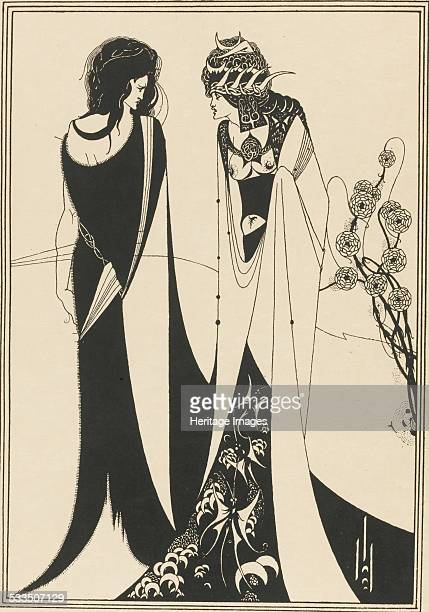 Illustration for Salome by Oscar Wilde 1894 Private Collection