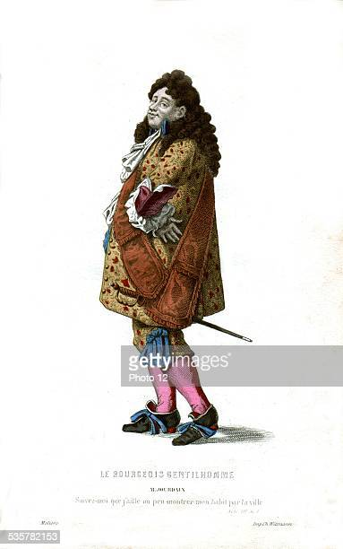 Illustration for 'The Prodigious Snob' by Molière Mr Jourdain 17th century France