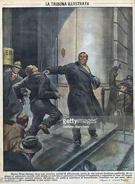 Illustration from La tribuna illustrata by Vittorio Pisani March 1932