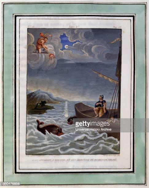Illustration from Les Amours pastorales de Daphnis et Chloe 1787 edition