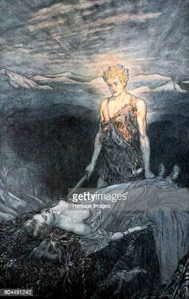 Illustration from Siegfried and the Twilight of the Gods 1924 Magical rapture pierces my heart fixed is my gaze burning with terror I reel my heart...