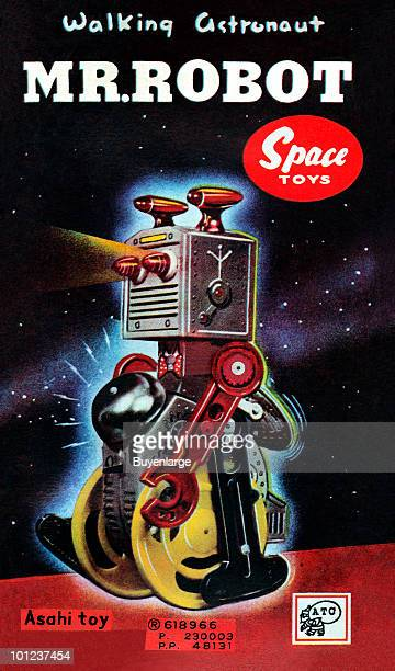 Illustration from the box of a science fictionrelated children's toy
