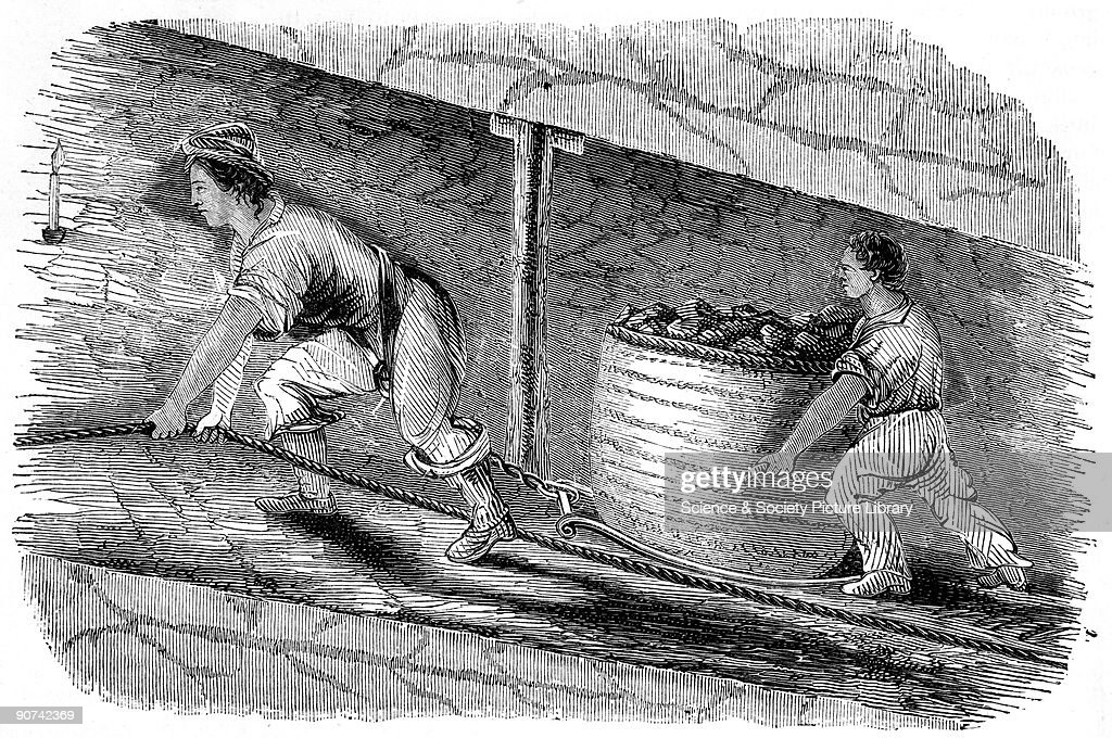 Illustration from the Report of the Children's Employment Commission Child labour was a feature of the Industrial Revolution with children often made...
