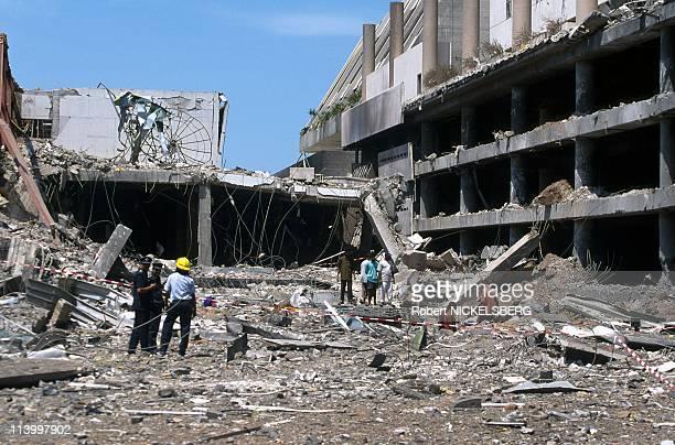 Illustration In Sri Lanka In March 1998Colomboworld trade center bomb blast site