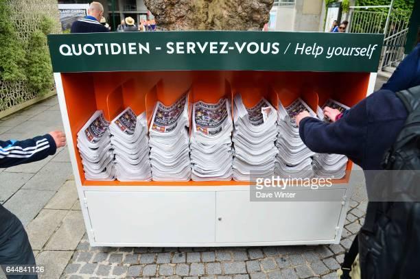 Illustration Journal Quotidien Jour 1 Roland Garros 2015 Photo Dave Winter / Icon Sport