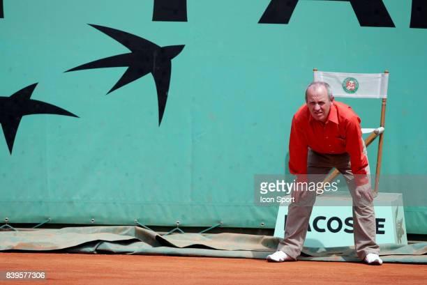 Illustration juge de ligne Roland Garros 2005