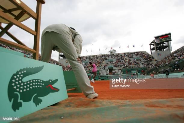 Illustration Lacoste / Juge de Ligne Roland Garros 2007 Jour1