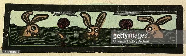 Illustration Of English Tales Folk Tales And Ballads Rabbits