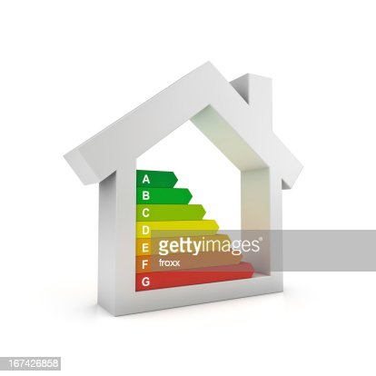 La eficiencia energética : Foto de stock