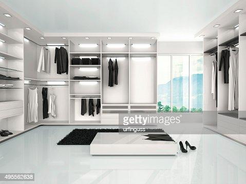 Illustration De Luxe De Garderobe Dans Le Style Moderne Photo