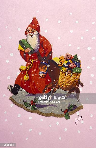 Illustration of the Santa Clause in 1997