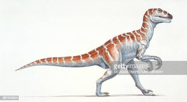Illustration of Therizinosaurus