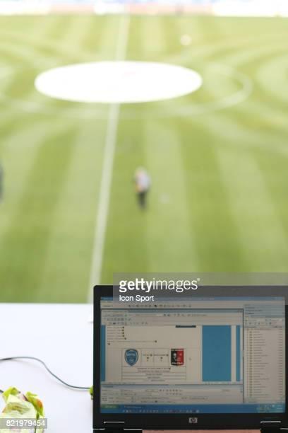 Illustration ordinateur Troyes / Boulogne sur Mer 35 eme journee de Ligue 2