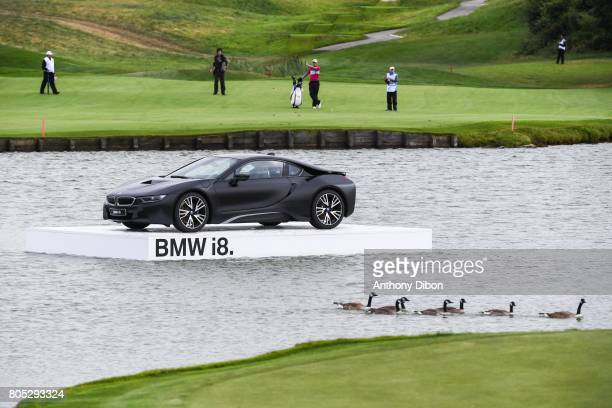 Illustration picture of BMW I8 during the day 3 of the HNA French Open on July 1 2017 in SaintQuentinenYvelines France