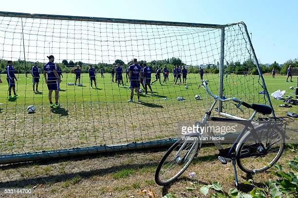 Illustration pictured during the training session of RSC Anderlecht at the Irene Sportcomplex in Tegelen on juli 10 2015 in Tegelen Netherlands