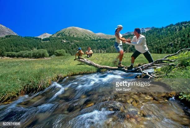 Illustration Randonnee Le lac D'Allos Alpes de Haute Provence