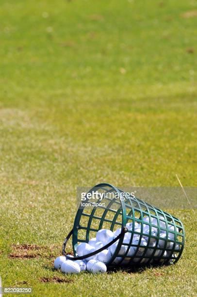 Illustration seau de balle de golf Evian Masters 2008 Evian Les Bains France