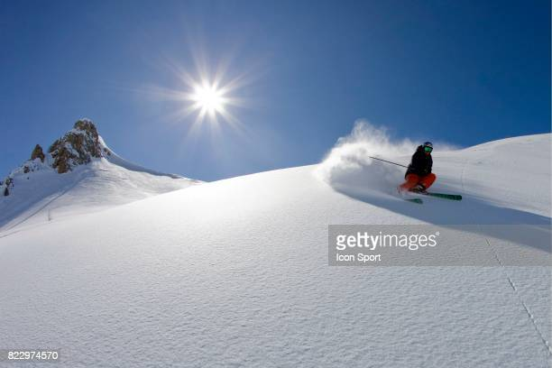Illustration ski Le Seignus d Allos Alpes de Haute Provence