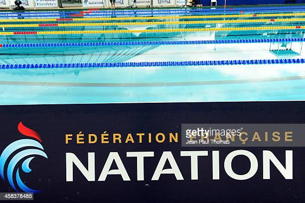 Illustration Stade aquatique d agglomeration vichy val d allier during Open de France on July 2 2016 in Vichy France