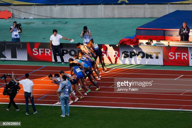 Illustration Start Women's 3000m Steeplechase during the Meeting de Paris of the IAAF Diamond League 2017 on July 1 2017 in Paris France