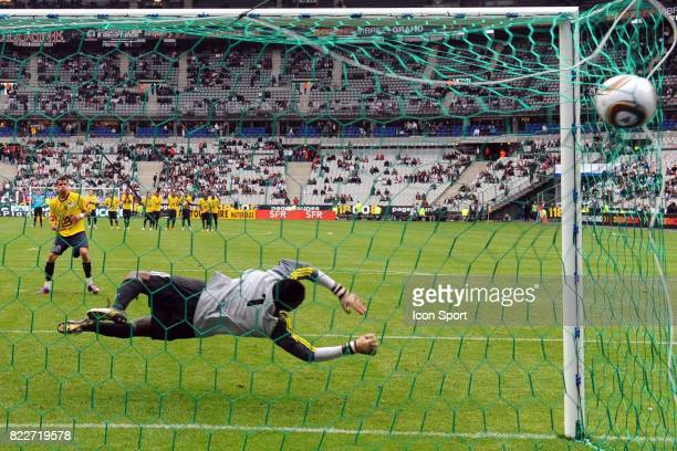 Illustration tir au but Metz / Sochaux Finale Coupe Gambardella Stade de France Saint Denis