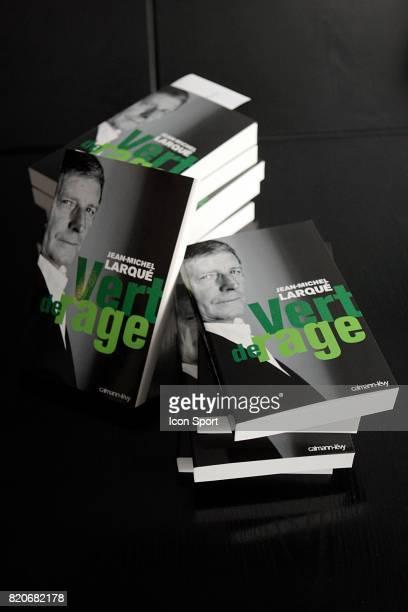 Illustration Vert de Rage Jean Michel LARQUE presente de son livre Vert de Rage Paris