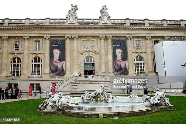 Illustration view during the 'Picasso Mania' Press Preview Held at Grand Palais on October 4 2015 in Paris France