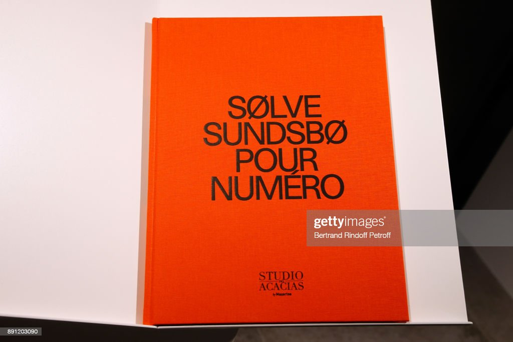"""Solve Sundsbo Pour Numero"" Exhibition Opening In Paris"