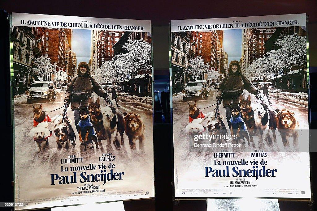 Illustration View of 'La Nouvelle Vie De Paul Sneijder' Premiere at UGC Cine Cite des Halles on May 30, 2016 in Paris, France.