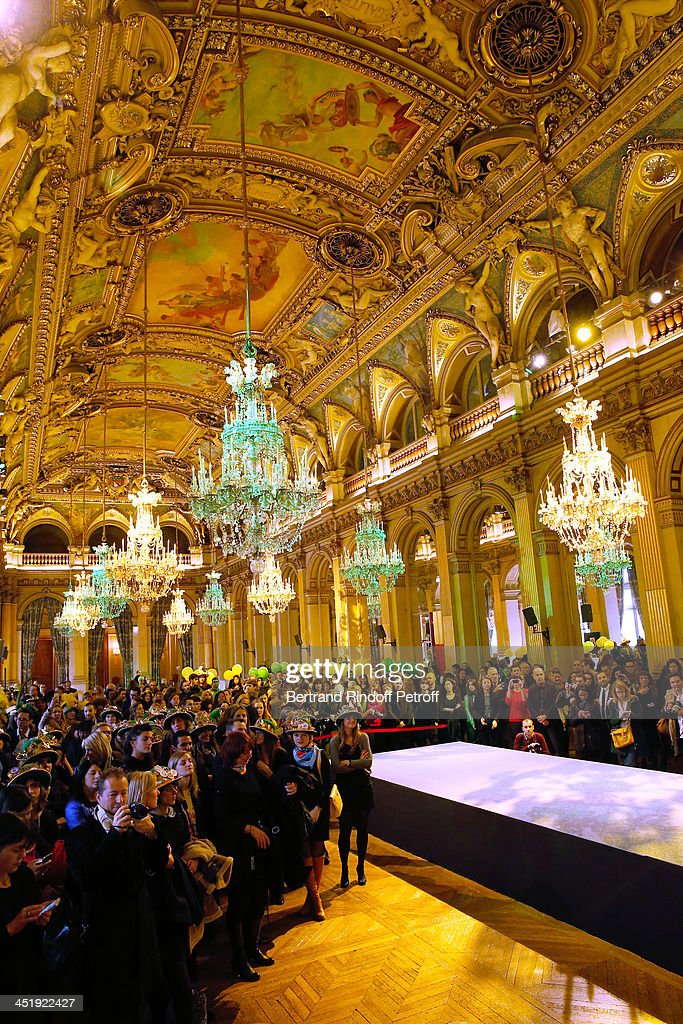 Illustration View of Sainte-Catherine Celebration at Mairie de Paris on November 25, 2013 in Paris, France.