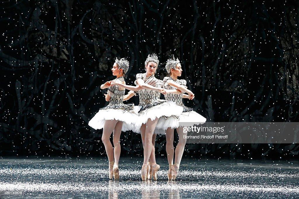 Illustration view of the Ballet 'Casse Noisette' during the Matinee 'Reve d'enfants' with Ballet 'Casse Noisette'. Organized by AROP at Opera Bastille on December 7, 2014 in Paris, France.
