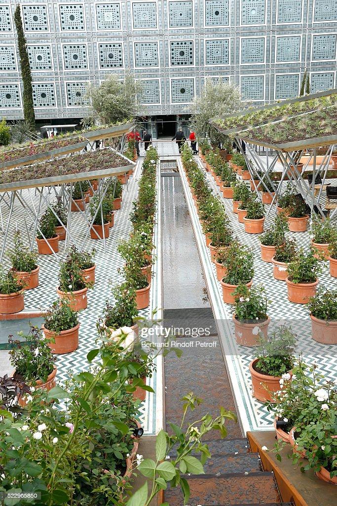 Jardins d 39 orient paris exhibition at institut du monde for Jardin du bout du monde