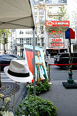 Illustration view of the Henri Salvador's Square unveiling in front of the Olympia on May 03 2016 in Paris
