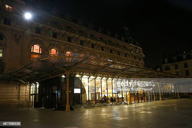 Illustration view of the Musee D'Orsay during the 'Societe des Amis du Musee D'Orsay' Dinner Party at Musee d'Orsay on March 23 2015 in Paris France
