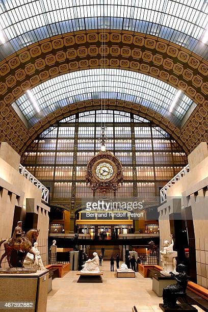 Illustration view of the Musee during the 'Societe des Amis du Musee D'Orsay' Dinner Party at Musee d'Orsay on March 23 2015 in Paris France