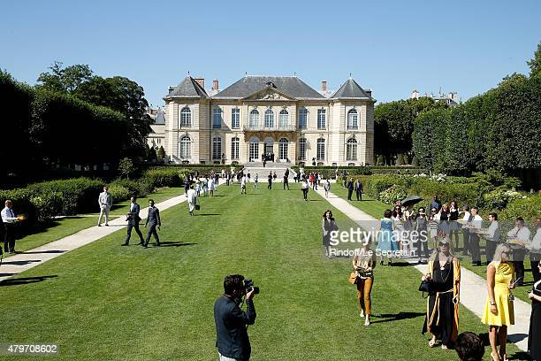 Illustration view of the Musee Rodin during the Christian Dior show as part of Paris Fashion Week Haute Couture Fall/Winter 2015/2016 on July 6 2015...