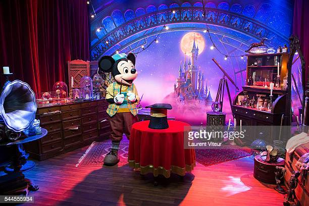Illustration View of the new show of Disneyland Paris 'Mickey et le Magicien' at Disneyland Paris on July 2 2016 in Paris France