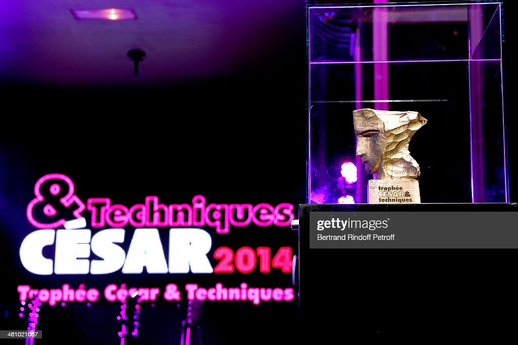 Illustration view of the Price whyle the 'Cesar et Techniques 2014' Award Ceremony at Club Haussmann on January 6, 2014 in Paris, France.