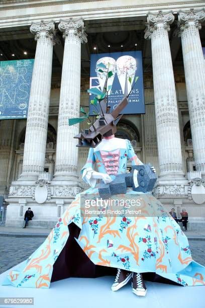 Illustration view of the 'Revelations' Fair at Balcon d'Honneur du Grand Palais on May 5 2017 in Paris France