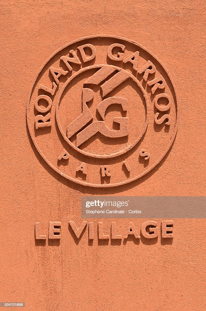 Illustration view of the Roland Garros Village during day six of the 2016 French Open at Roland Garros on May 27, 2016 in Paris, France.