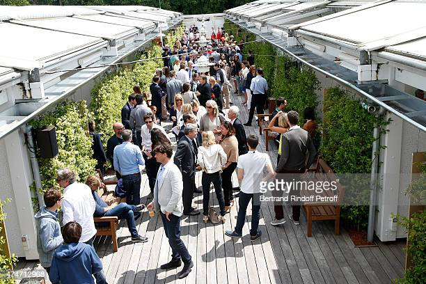 Illustration view of the Village during the 2015 Roland Garros French Tennis Open Day 2 on May 25 2015 in Paris France