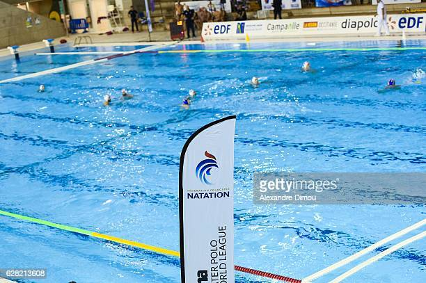 Illustration Water Polo during the World League match between France and Croatia on December 6 2016 in Montpellier France