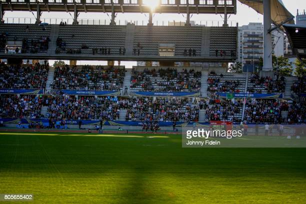Illustration Women's 100m during the Meeting de Paris of the IAAF Diamond League 2017 on July 1 2017 in Paris France
