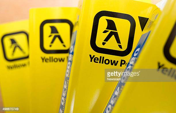Illustrative image of Yellow Pages books