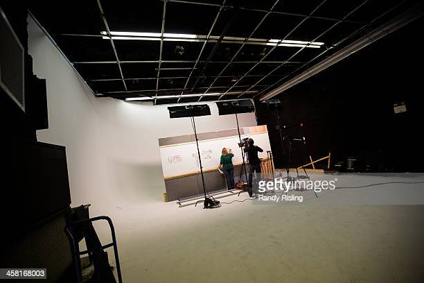 Illustrator Liisa Sorsa and Producer Nick De Pencier record a scene for the newest DocMikeEvans YouTube video on lower back pain Toronto doctor Mike...