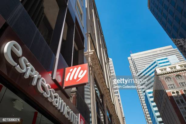 Illy espresso store in the Financial District neighborhood of San Francisco California September 26 2016 Illy an Italian brand of premium espresso...