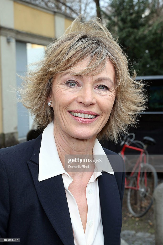 Ilona Gruebel attends the 35 years anniversary of the tv show 'Soko 5113' on January 30, 2013 in Munich, Germany.