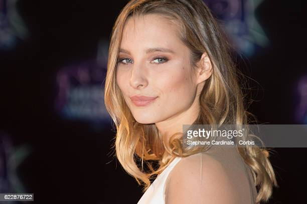 Ilona Smet attends the 18th NRJ Music Awards at Palais des Festivals on November 12 2016 in Cannes France