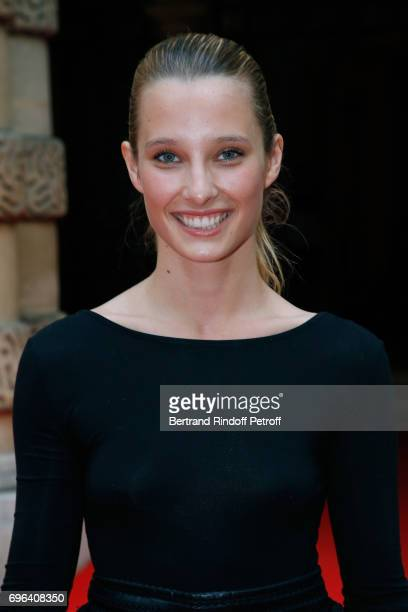 Ilona Smet attends the JeanPaul Gaultier 'Scandal' Fragrance Launch at Hotel de Behague on June 15 2017 in Paris France