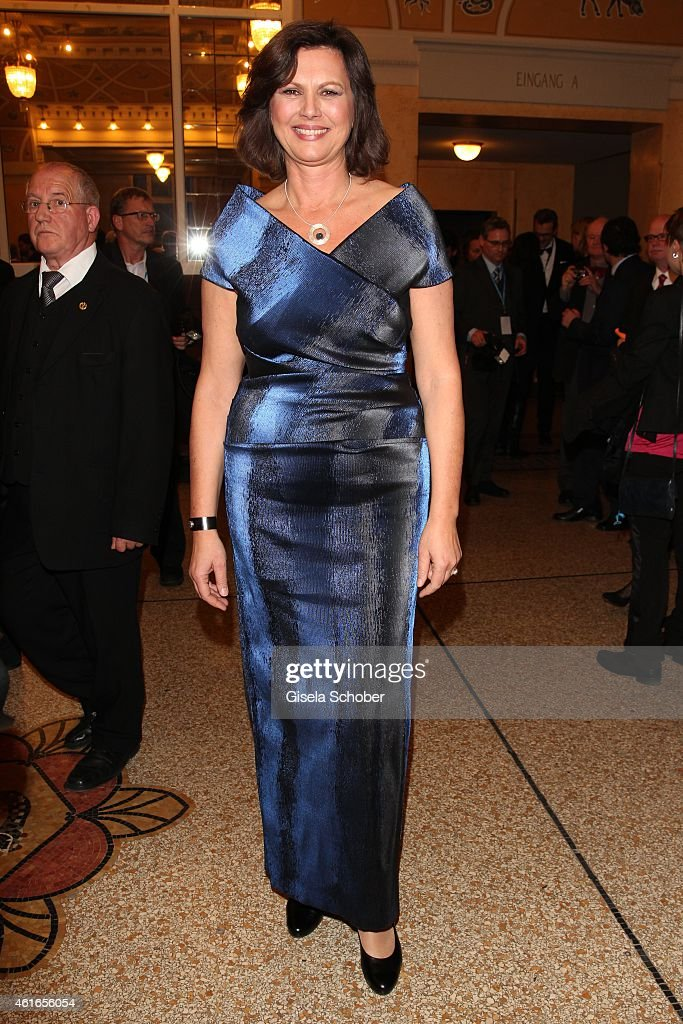 <a gi-track='captionPersonalityLinkClicked' href=/galleries/search?phrase=Ilse+Aigner&family=editorial&specificpeople=2158567 ng-click='$event.stopPropagation()'>Ilse Aigner</a> during the Bavarian Film Award 2015 on January 16, 2015 in Munich, Germany.